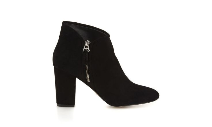 Marilyn Side Zip Boot, Black | WHISTLES