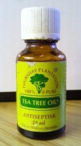 Olejek z drzewa herbacianego i jego zastosowanie