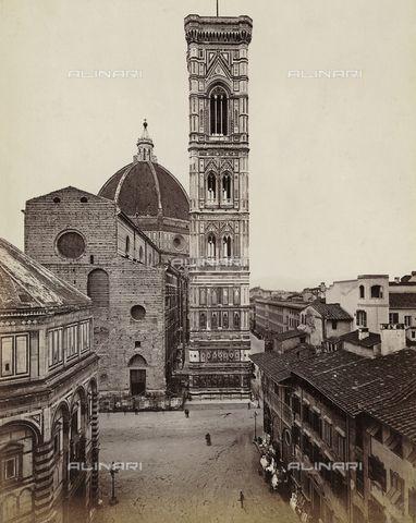 Campanile del Duomo di Santa Maria del Fiore, detto Campanile di Giotto, Firenze Alinari shop