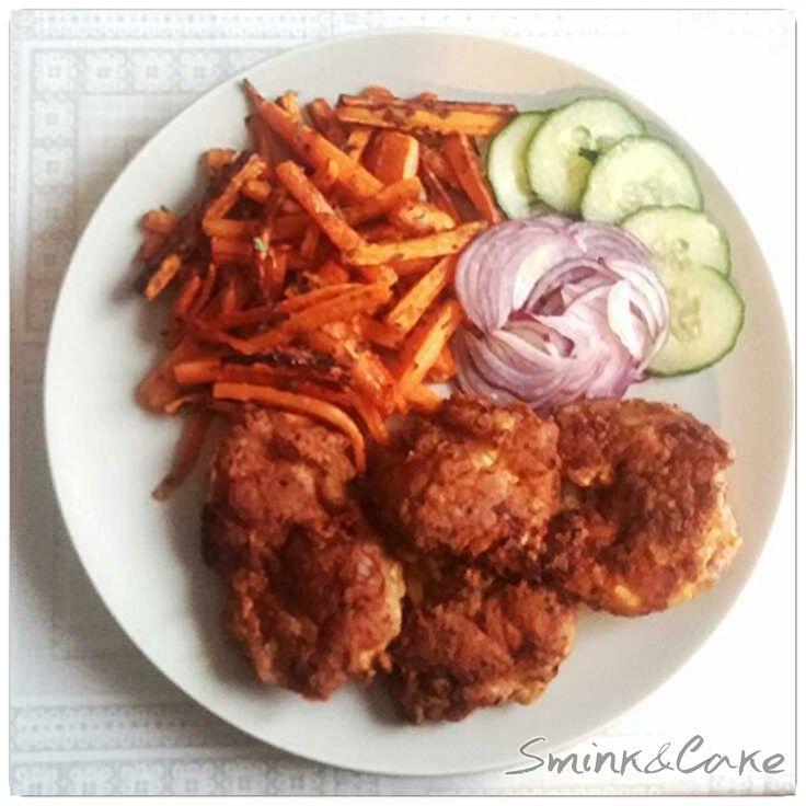 Indiai sült csirkecomb filé, gyömbéres sült répahasábbal