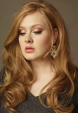 ♥ I lurrrv Adele's hair!