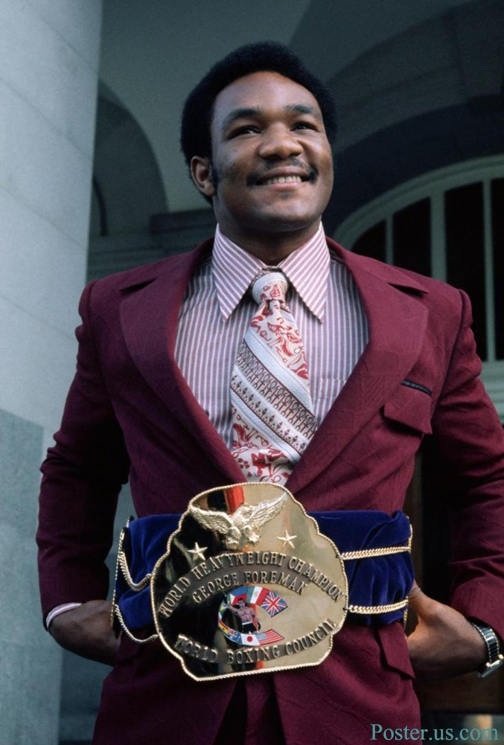 """George Edward Foreman (nicknamed """"Big George""""[1]) (born January 10, 1949) Marshall, TX  Retired American professional boxer, two-time World Heavyweight Champion, Olympic gold medalist, ordained minister, author, and entrepreneur"""