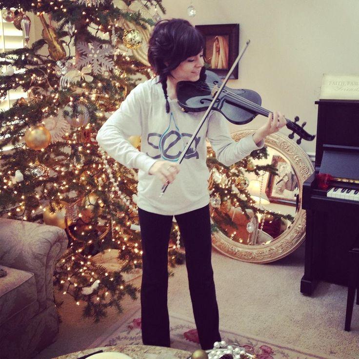 The next Lindsey's violin..... Nero!