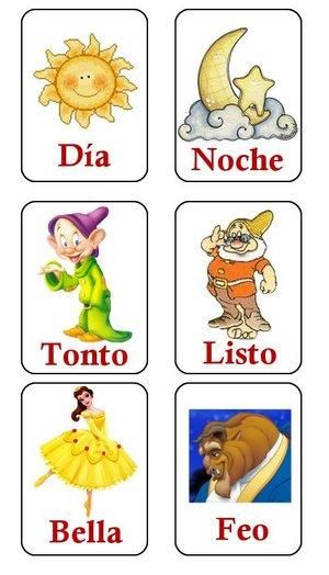 17 best images about los opuestos opposites on pinterest - Compritas para los peques ...