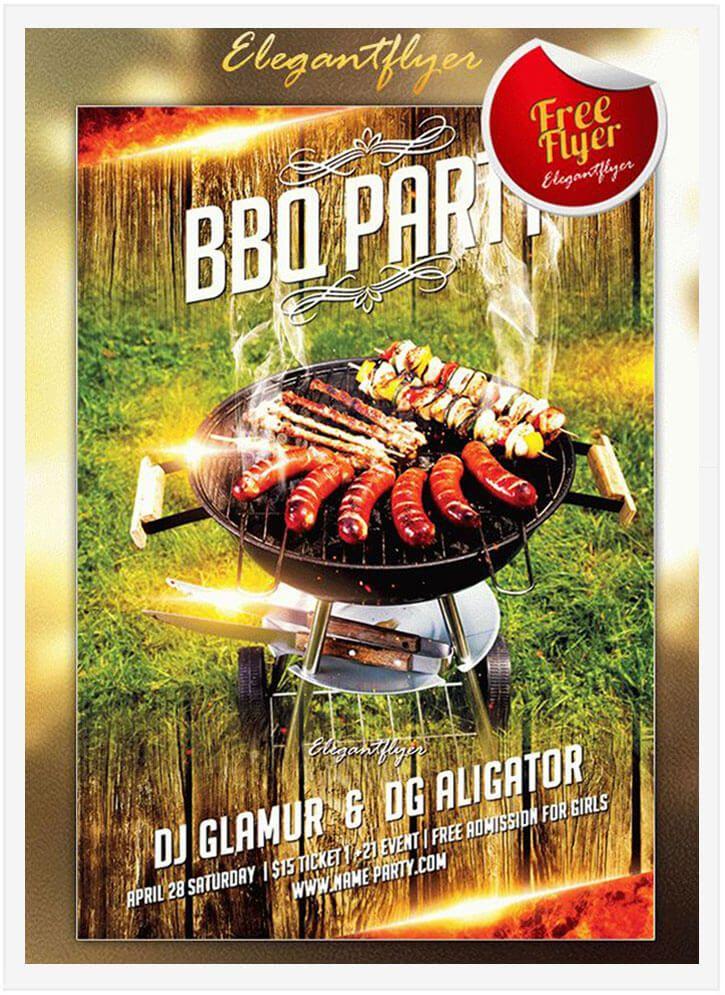 15 free barbecue flyer templates in psd vector ai design desk
