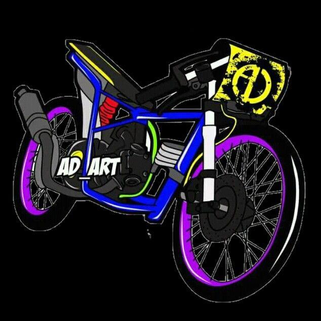 Masih Banyak Lagi Gambar Mentahan Motor Vector Logo Keren