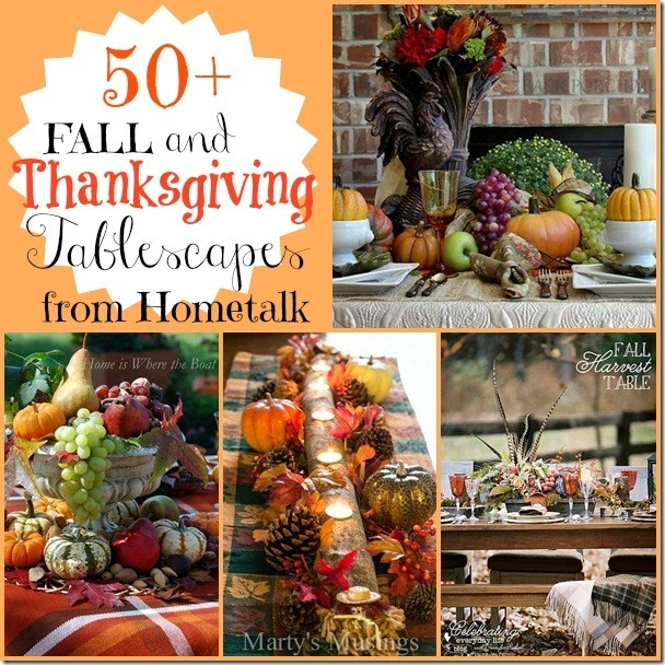 CONFESSIONS OF A PLATE ADDICT Thanksgiving Tablescape Inspiration from Hometalk