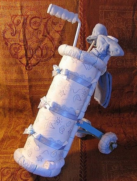 Instructions to make this adorable BABYS 1st by DiaperZooDesigns
