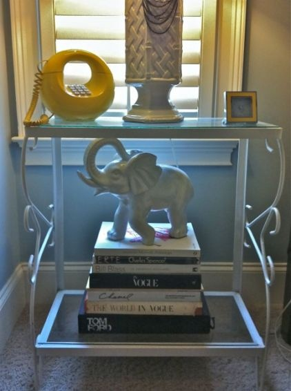 yellowElephant Tables, Donuts Phones, Bamboo Lamps, Elephant Design, Yellow Phones, White Elephant, Aquariums Stands, Furnituredecor Ideas, Furniture Decor Ideas