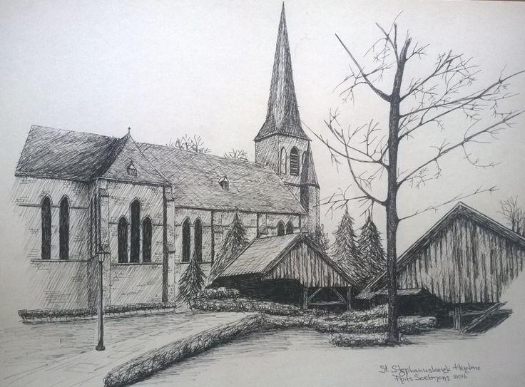 St Stepahanuskerk, Hertme, Holland