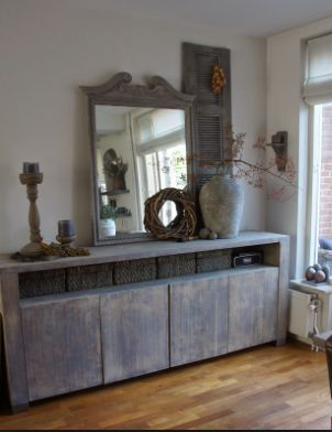dressoir decoratie