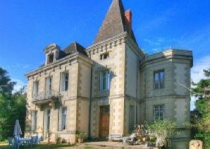 Petit Chateau Bourgeois. Elegant Bourgeois Chateau set in the centre of its own 2 acre parkland within walking distance of  a beautiful village with all amenities. Marmande is just 10km away, St Emillion 80km and Bordeaux just 90 Km away. #Lot #property #chateau #elegant #village #beautiful #garden #holiday #summer #woodland