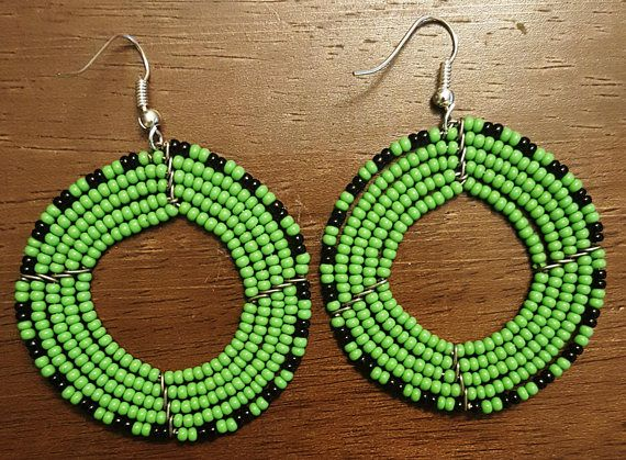 Check out this item in my Etsy shop https://www.etsy.com/listing/509418483/gift-items-beaded-earrings-african