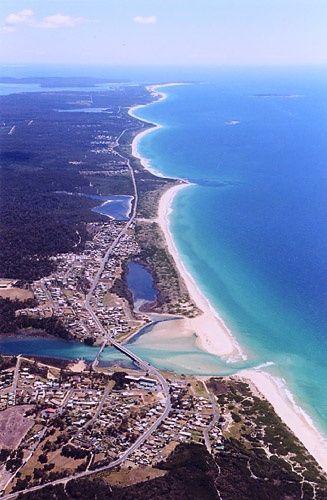 Scamander, east coast Tasmania.