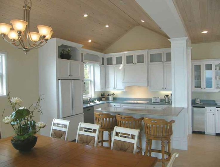 columns+for+split+foyer | Cabinets, Columns - Inside, Open Floor