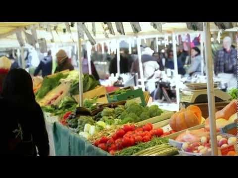 A Visit to a Paris Market - YouTube