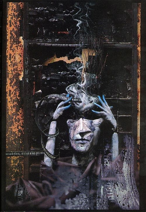 Sandman artwork by Dave McKean