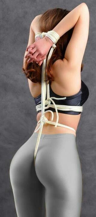 Bundet Opp Yoga Bukser