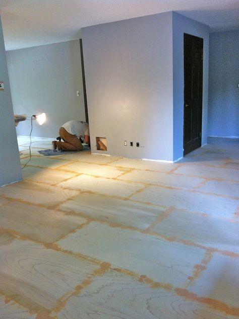 757 best plywood floors images on pinterest plywood for Wood floor alternatives