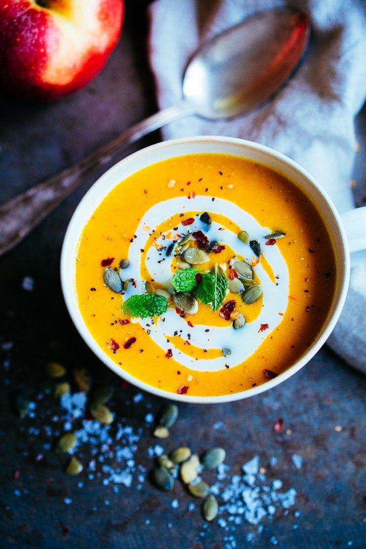 Vegansk morotssoppa
