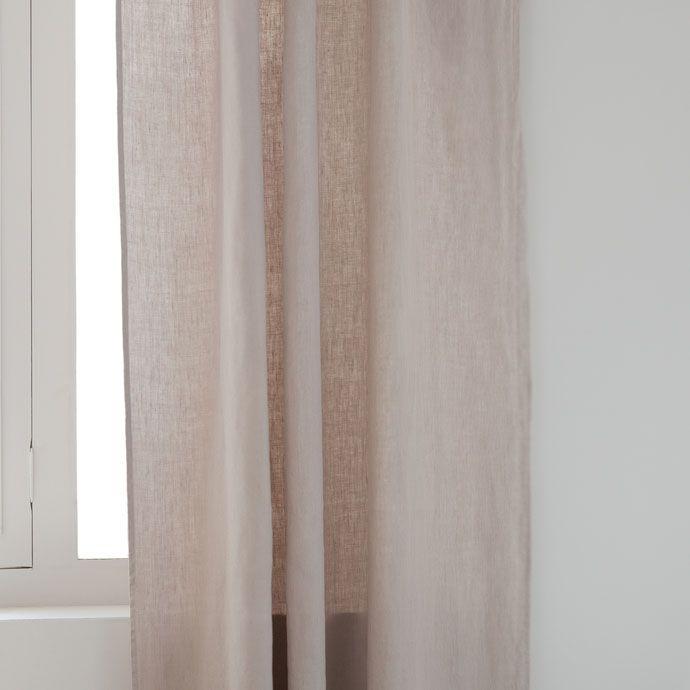 17 melhores ideias sobre cortinas de linho branco no - Zara home cortinas ninos ...