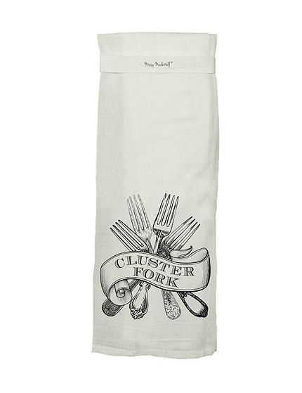 Approximately X White Flour Sack Tea Towel Humorous, Sassy Saying Special  Loop Hang Tight Towel Great Gift Idea!