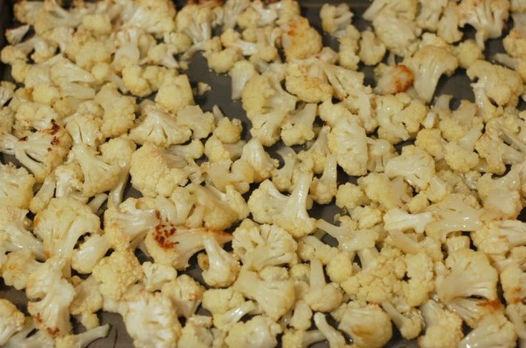 Cauliflower Popcorn  Author:Branda Prep time: 5 mins Cook time: 30 mins Total time: 35 mins Print Ingredients 1 head cauliflower, cut into small florets 3 tablespoons olive oil or coconut oil kosher/sea salt Instructions Heat oven to 400° F. In a large bowl, combine the cauliflower, oil, and ½ teaspoon salt. Transfer to a …