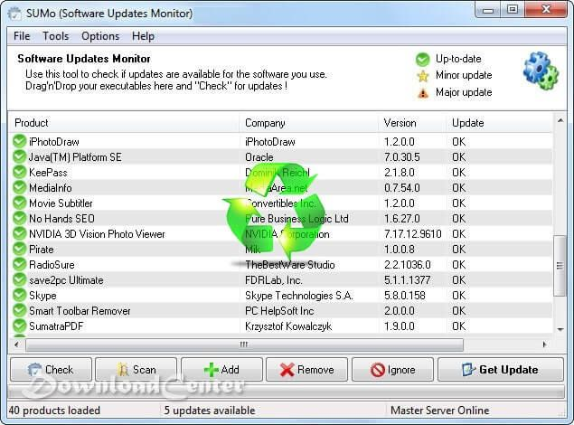 Download SUMo 🥇 Detect and Update all Computer Software