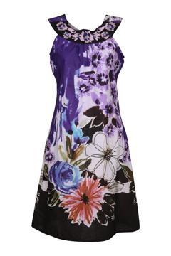 Orientique Santorini Scoop Neck Dress