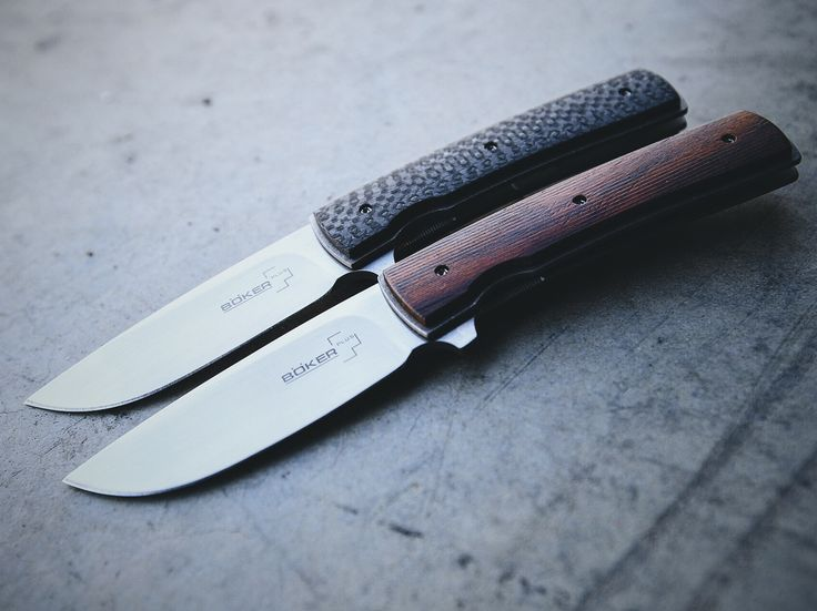 The New Boker Plus Brad Zinker FR Folding Knife