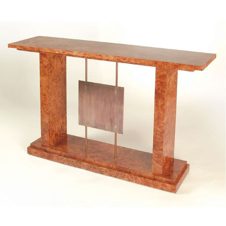 Burr Console Table by Anton Gerner - bespoke contemporary furniture melbourne
