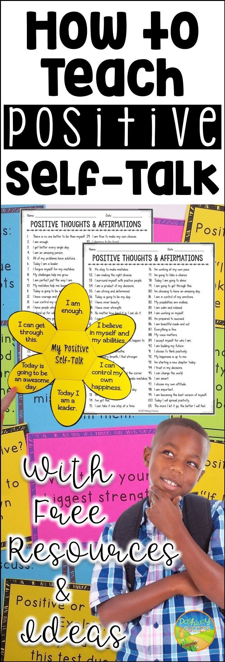 How to Teach Positive Self-Talk