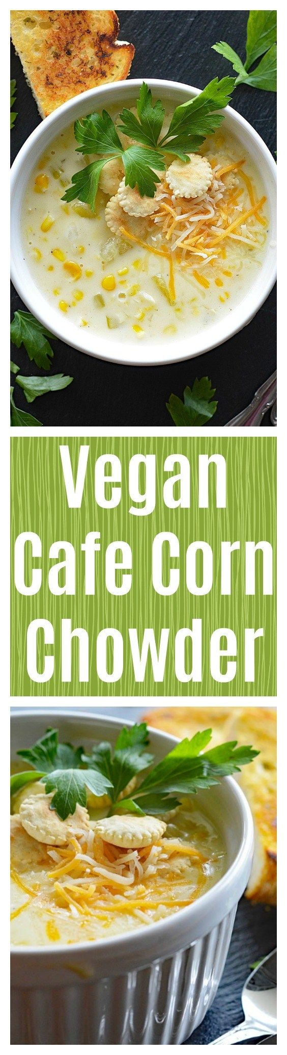 Vegan Cafe Corn Chowder