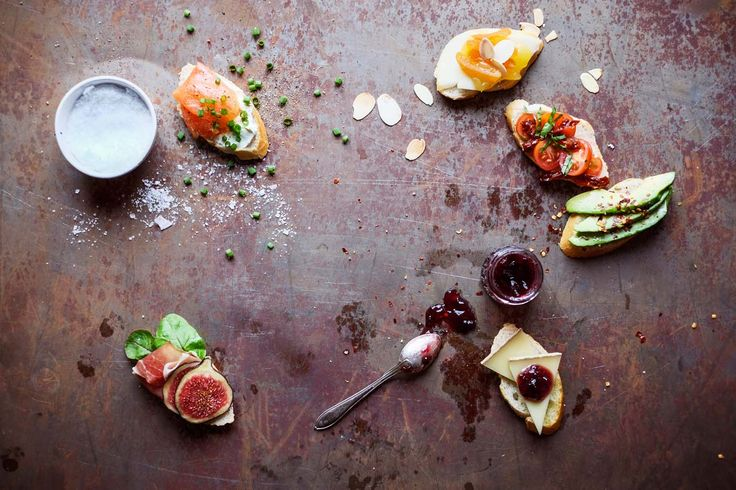 Pinchos. Recipes, food styling & photography: Louise Ljung