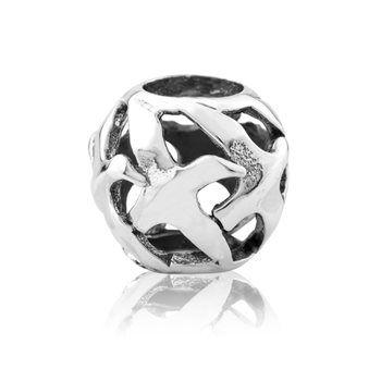 Albatross (Freedom) NZ Silver Bracelet Charms - evolve-jewellery.co.nz