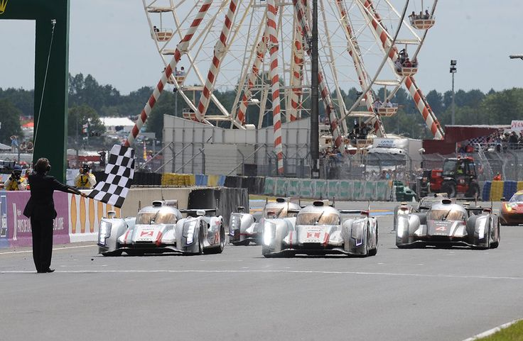 Audi's 18 years at Le Mans :: New rival, familiar result – Toyota replaced Peugeot, but Audi scores a 1-2-3. 2012