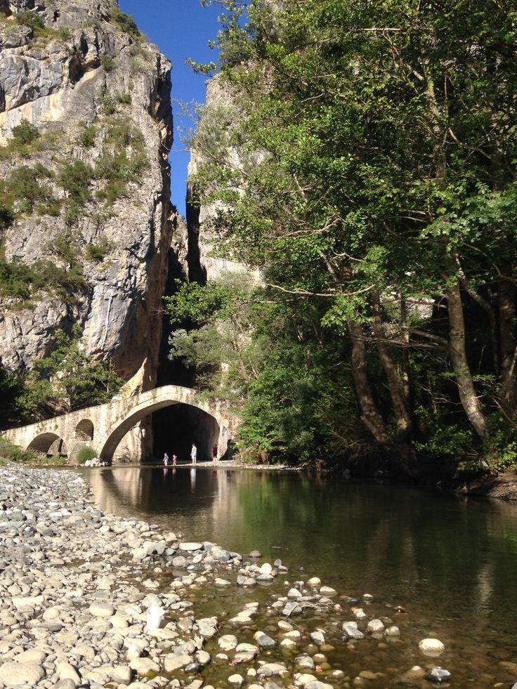 Bridge Of Portitsa, Grevena, Greece
