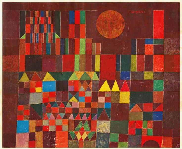 Paul Klee was an important painter in the history of modern art.  I have always been drawn to his colorful, abstract pictures.  Children can relate to the simple geometric shapes and bold colors.  His art has been related to Expressionism, Cubism and Surrealism. Swiss artist Paul Klee painted the Castle and Sun with simplified shapes, … … Continue reading →