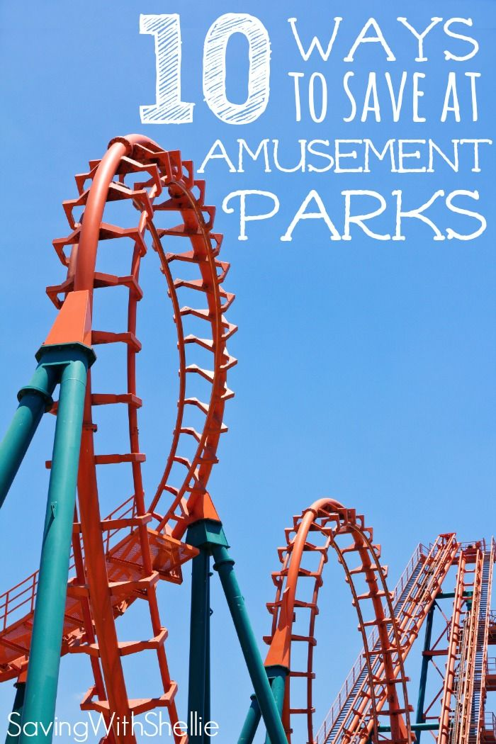 Looking for ways to save at amusement parks this summer? Here's an awesome list of money saving tips at amusement parks. There's no reason your fun family day should break the bank!
