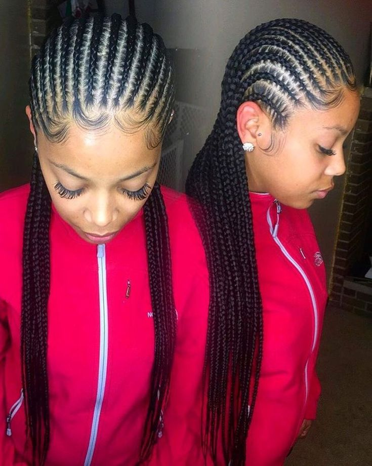 STYLECASTER | Protective Hairstyles to Try | Straight Back Cornrows