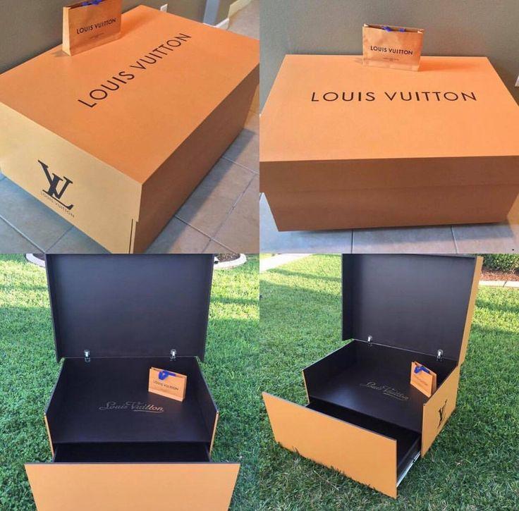 Giant Louis Vuitton Shoe Storage Box