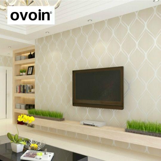 Beige White Grey Luxury Modern Wallpaper For Bedroom Walls Covering Living Room Wallpaper Modern Grey Living Room Modern Bedroom Lighting Wallpaper Living Room