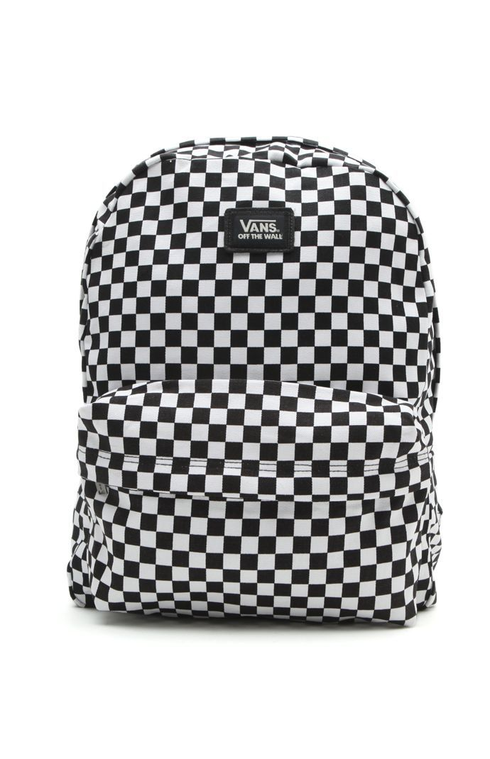 Old Skool II Checkered Backpack