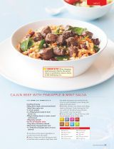 41 best recipes images on pinterest recipe collection delicious cajun beef with pineapple and mint salsa recipe collection healthy food guide 2016 forumfinder Gallery
