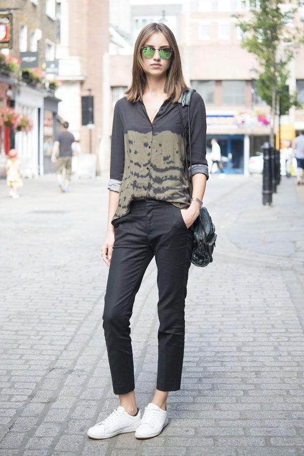 ロンドンの最新スナップで、ロックな夏の黒の着こなしをチェック。|ファッション(流行・モード)|VOGUE