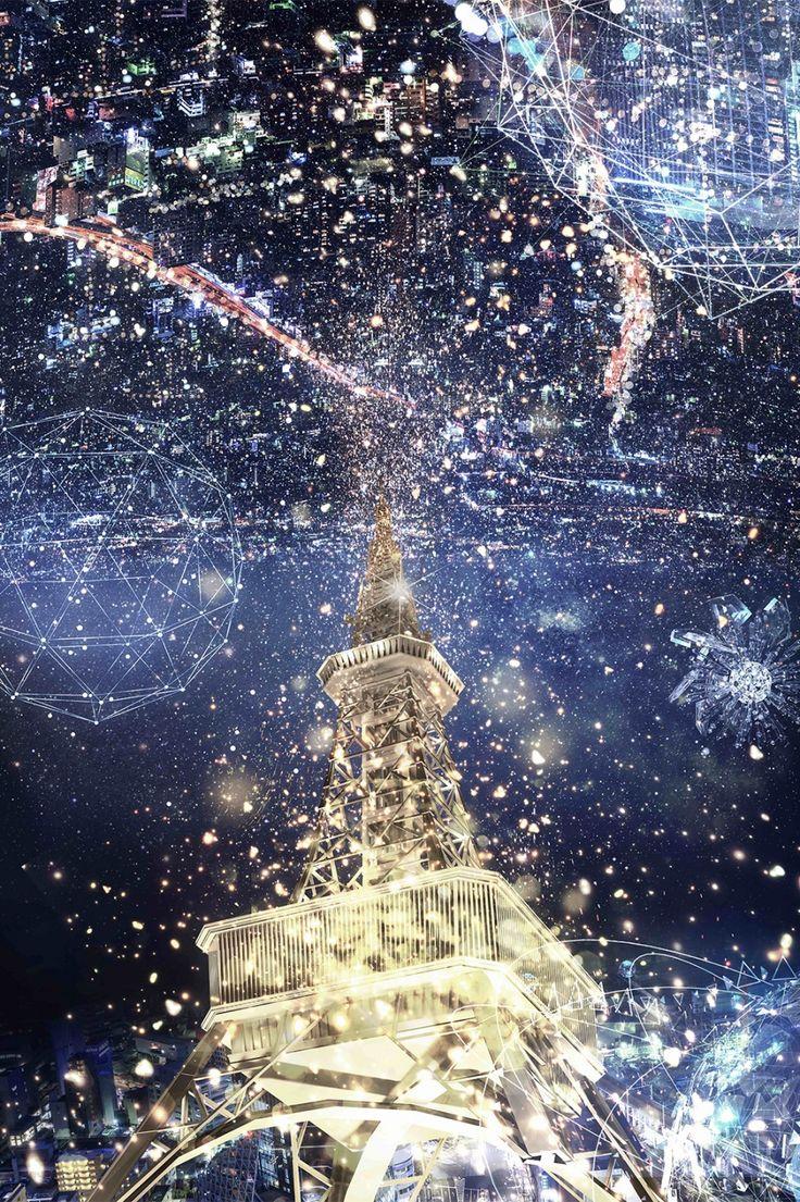 全国で通算30万人以上を動員した夜景×プロジェクションマッピングショー「CITY LIGHT FANTASIA by NAKED」が、2年目となる今冬「STAR LIGHT FANTASIA by NAKED」とテーマを変え、東京、大阪、名古屋、札幌の全国4都市の主要タワーにて公開される。 STAR LIGHT FANTASIA by NAKED/画像提供:ネイキッド