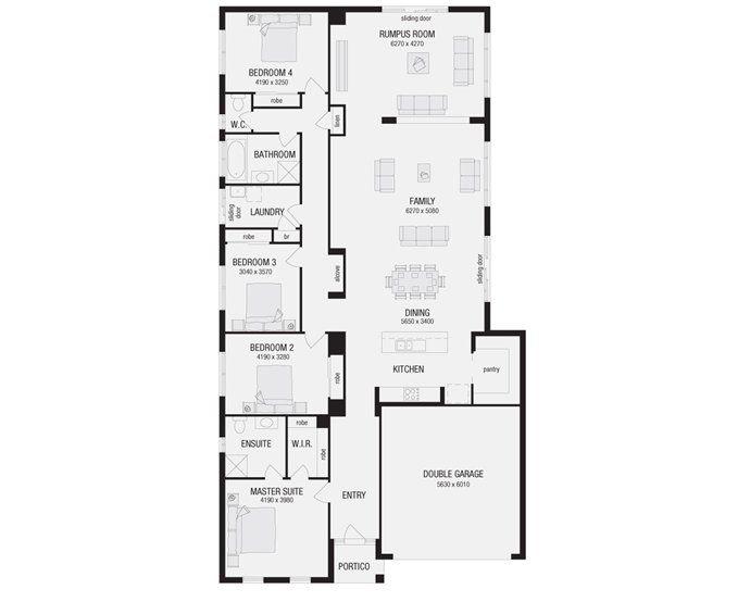 Hayman 29, New Home Floor Plans, Interactive House Plans - Metricon Homes - Queensland