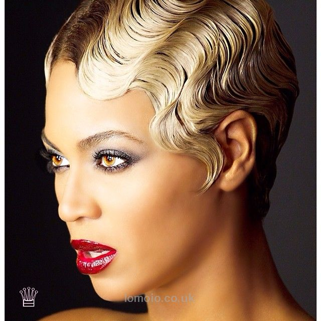 627 best Finger Wave Shot Hair images on Pinterest | Shot hair ...