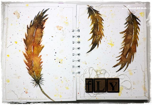 Fly - Art Journal