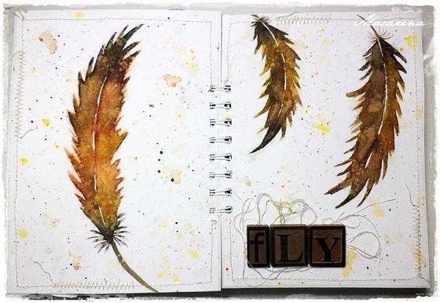 Fly - Art Journal